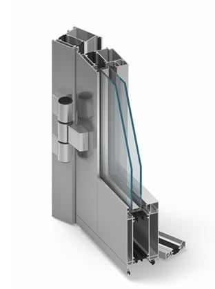 MB70 Aluminium deur