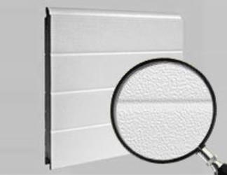 Sectionaal poort Bremet stucco geprofileerd